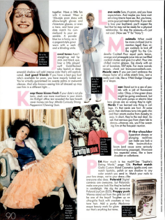 ELLE Girls 50 ways to rock your prom A-Z 2004 page 3