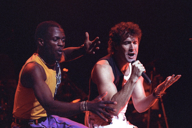 Johnny Clegg Performs