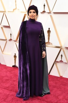 Muslim woman Fatma Al Remaihi runs the Doha Film Institute in Quatar. Several films from the Middle East competed in the Short and Documentary categories. The travel ban made it difficult for many international filmmakers to attend the Oscars.