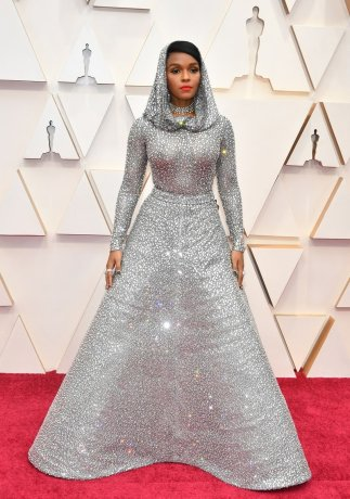 Janelle Monáe proving nothing can wear her